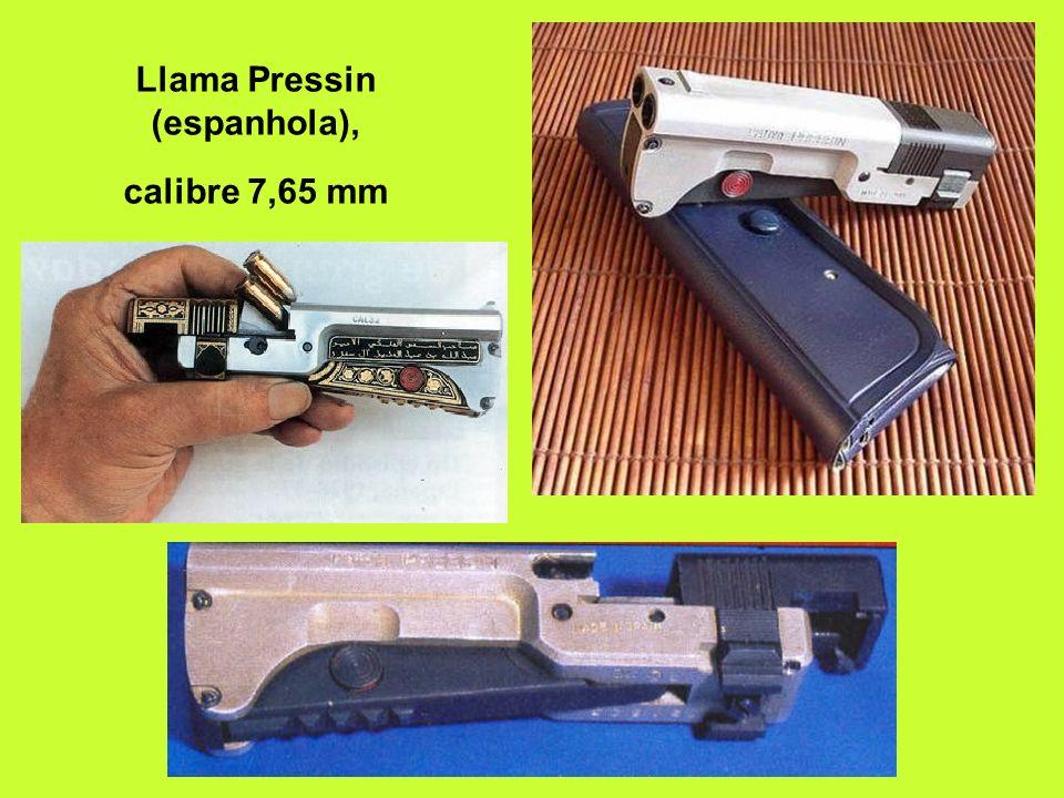 Llama Pressin (espanhola), calibre 7,65 mm