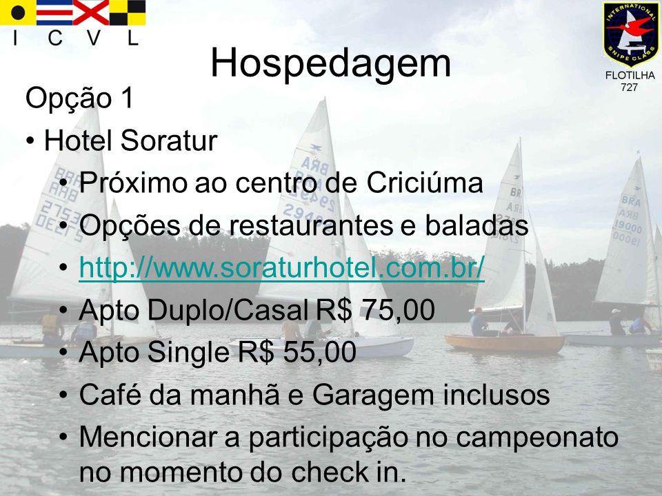 Hospedagem Opção 1 Hotel Soratur Próximo ao centro de Criciúma