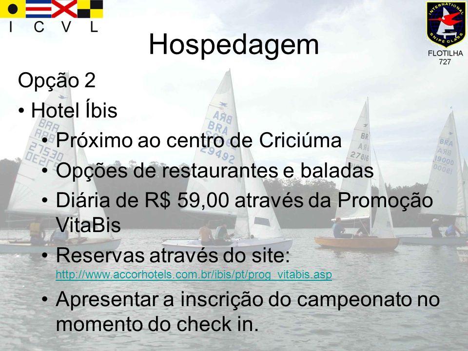 Hospedagem Opção 2 Hotel Íbis Próximo ao centro de Criciúma