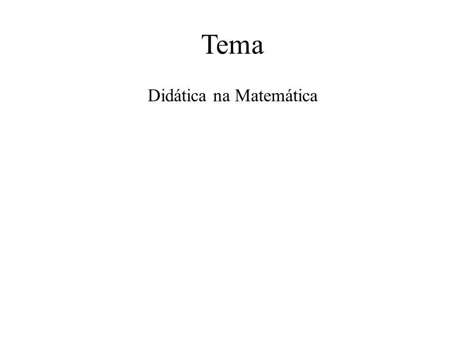 Didática na Matemática