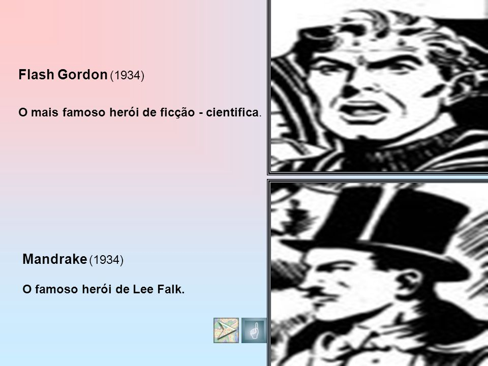 Flash Gordon (1934) Mandrake (1934)