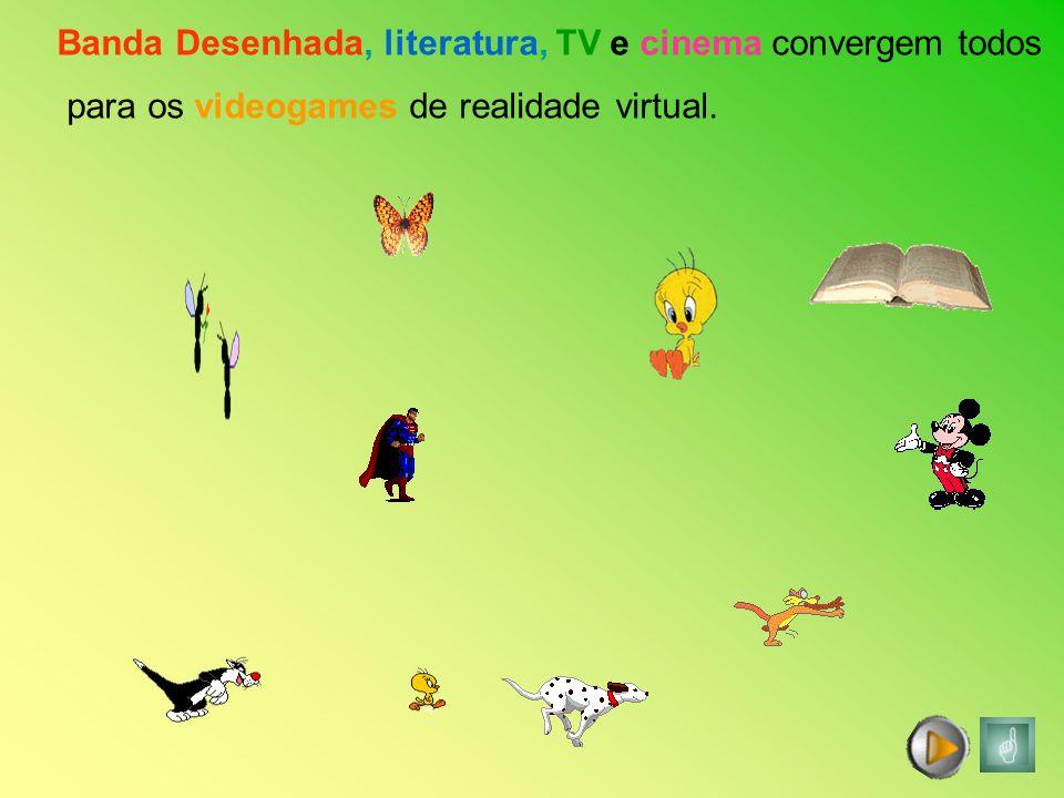 Banda Desenhada, literatura, TV e cinema convergem todos