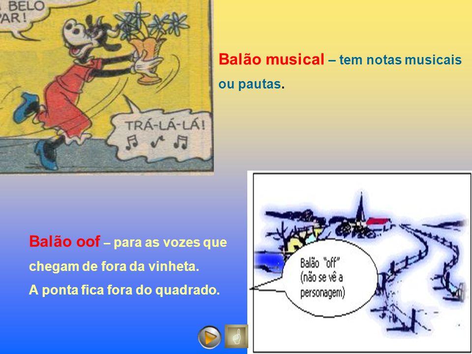 Balão musical – tem notas musicais