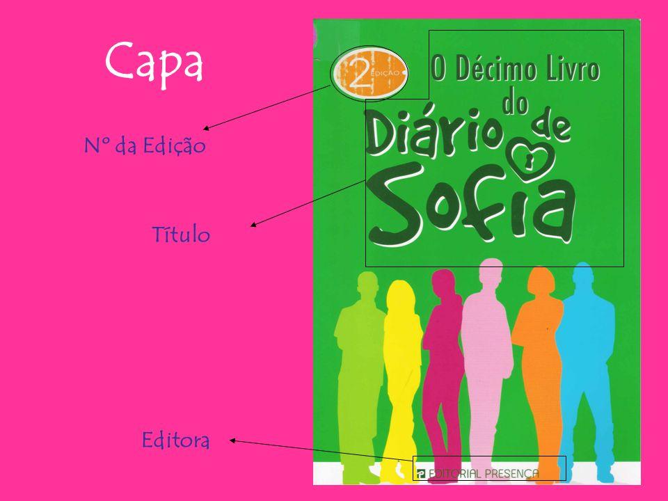 Capa Nº da Edição Título Editora