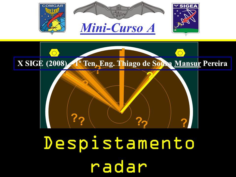 X SIGE (2008) – 1º Ten. Eng. Thiago de Souza Mansur Pereira