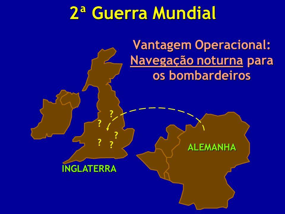Vantagem Operacional: Navegação noturna para os bombardeiros