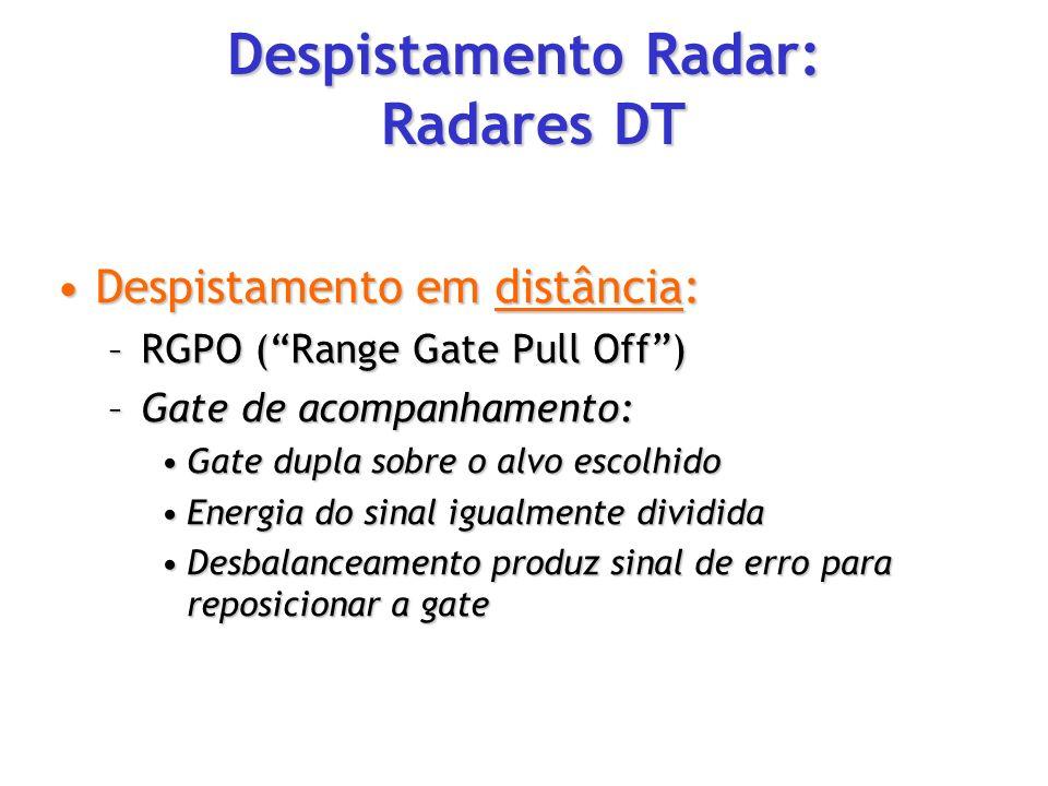 Despistamento Radar: Radares DT