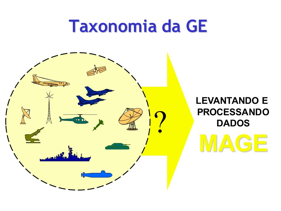Taxonomia da GE LEVANTANDO E PROCESSANDO DADOS MAGE
