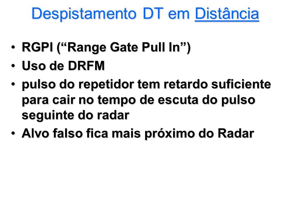Despistamento DT em Distância
