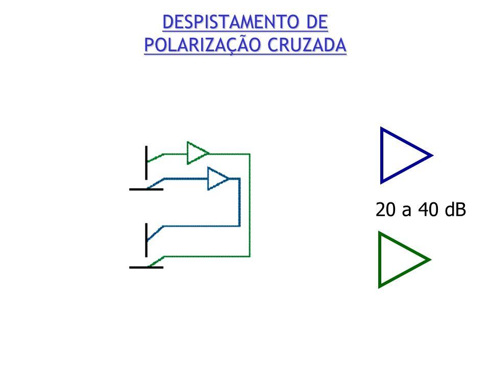 DESPISTAMENTO DE POLARIZAÇÃO CRUZADA