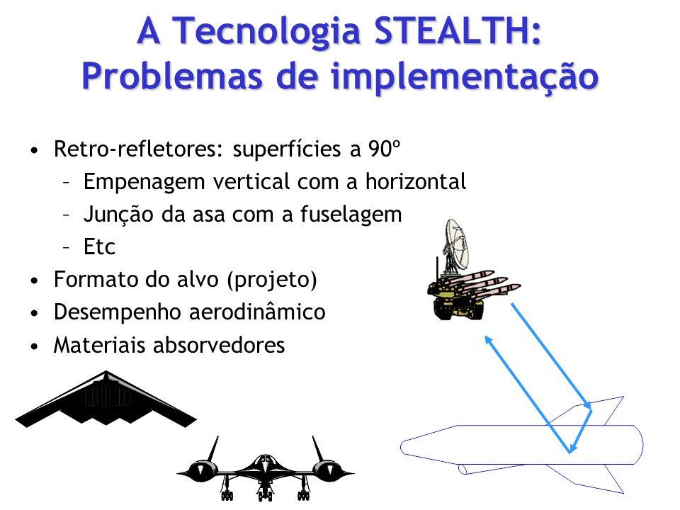 A Tecnologia STEALTH: Problemas de implementação