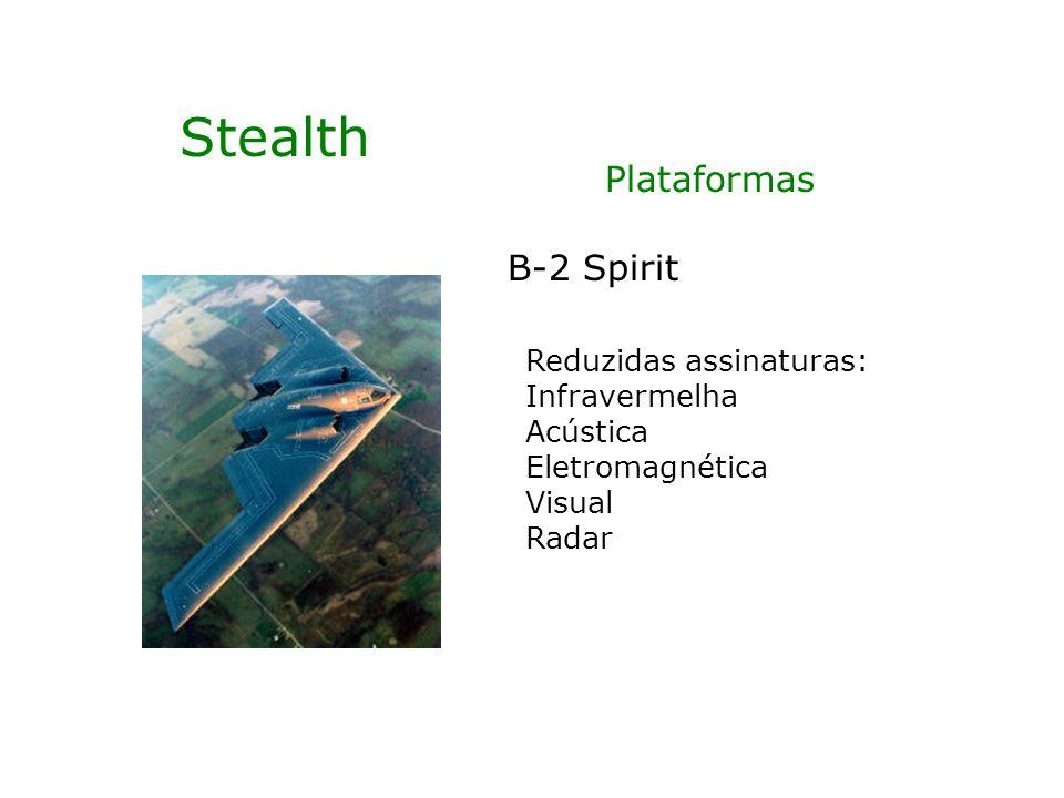 Stealth Plataformas B-2 Spirit Reduzidas assinaturas: Infravermelha