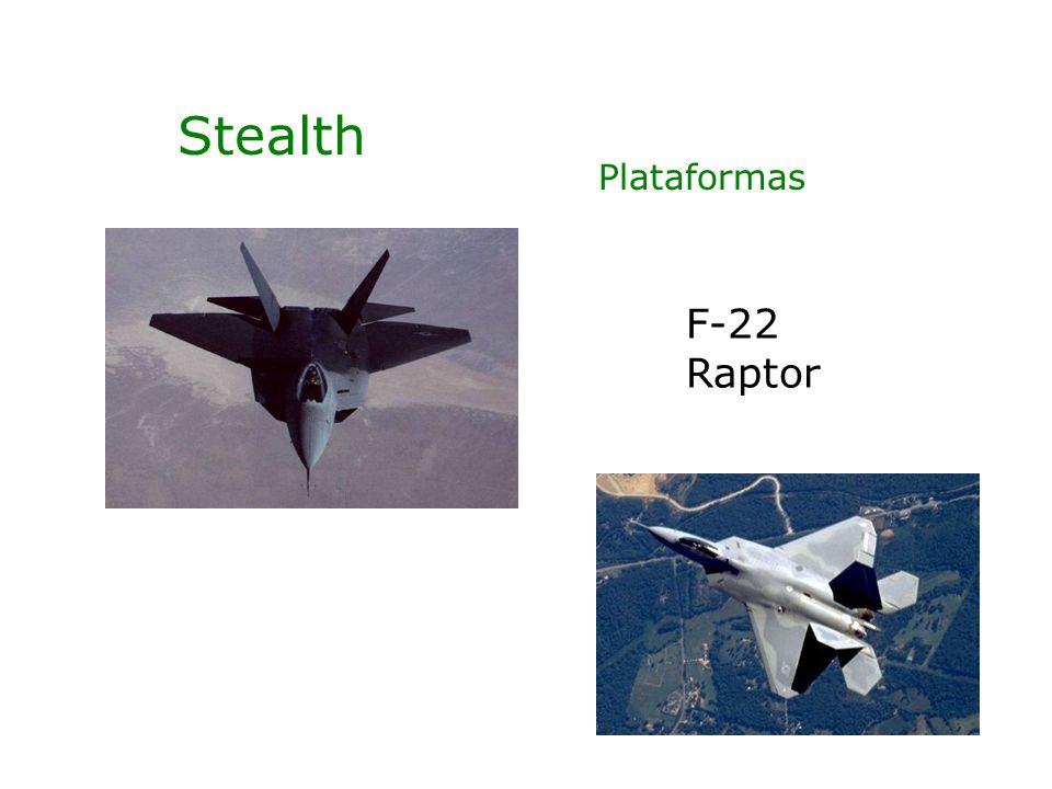 Stealth Plataformas F-22 Raptor