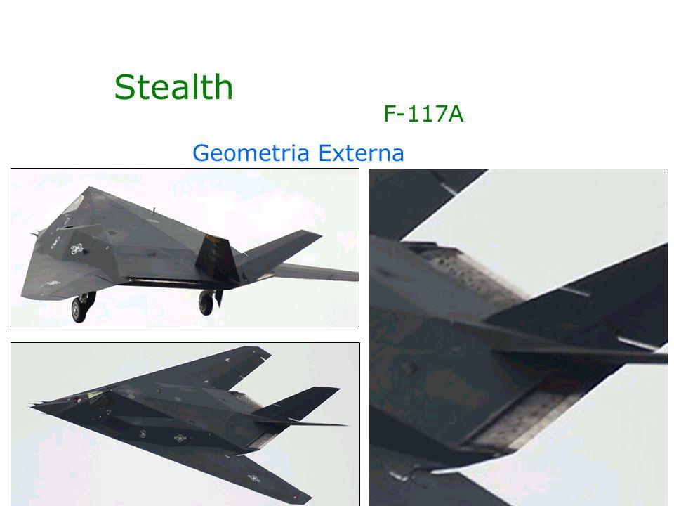 Stealth F-117A Geometria Externa