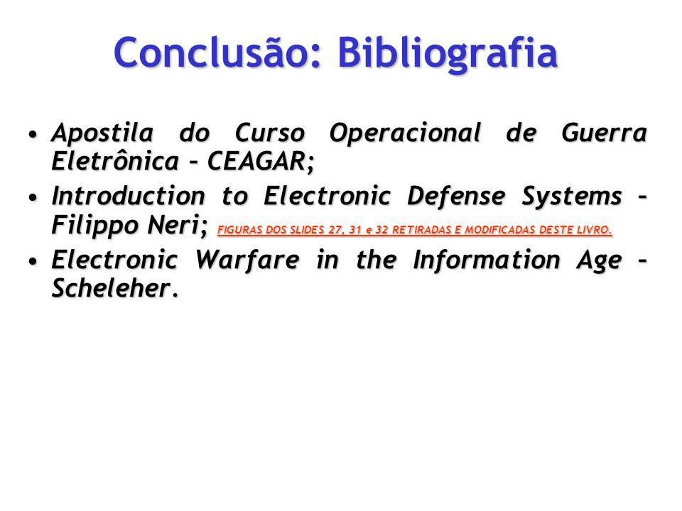 Conclusão: Bibliografia
