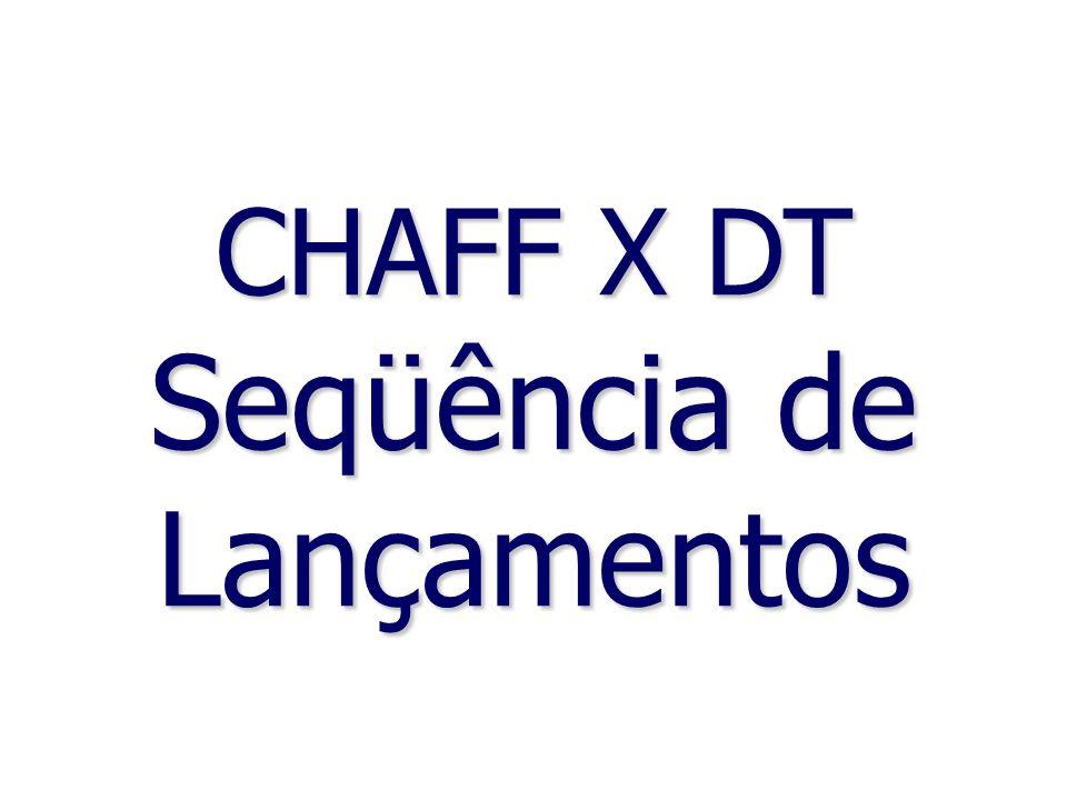 CHAFF X DT Seqüência de Lançamentos