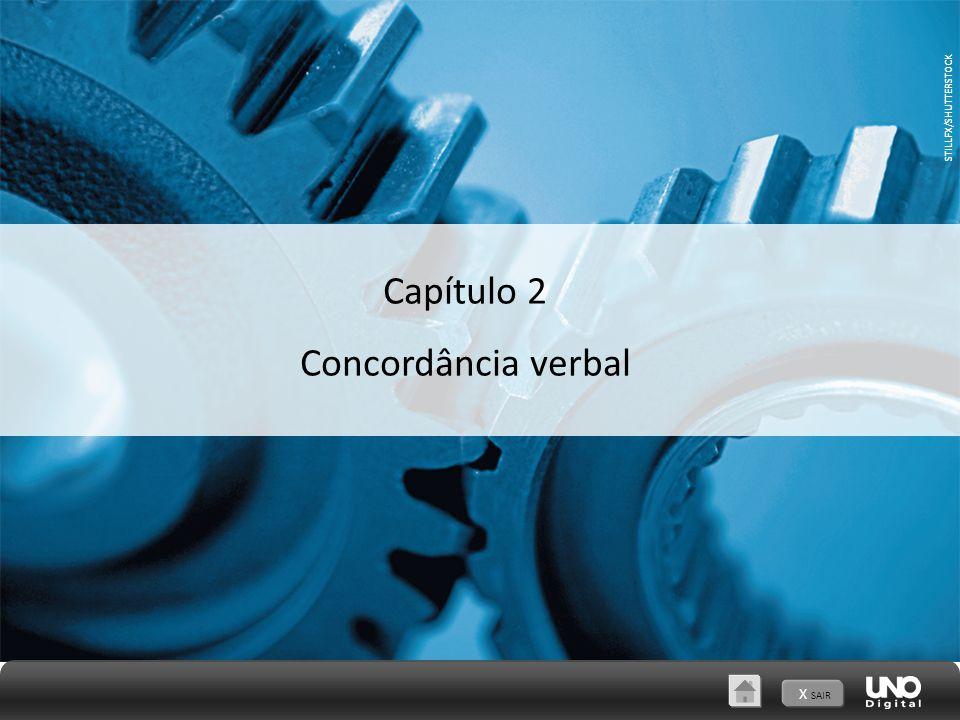 Capítulo 2 Concordância verbal X SAIR STILLFX/SHUTTERSTOCK