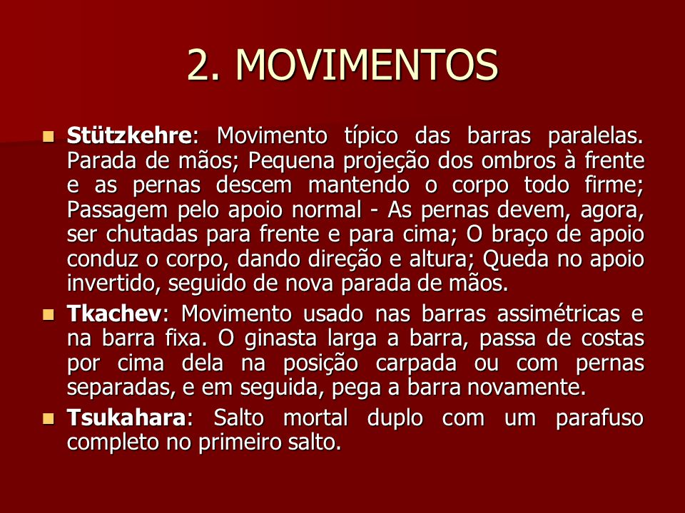 2. MOVIMENTOS