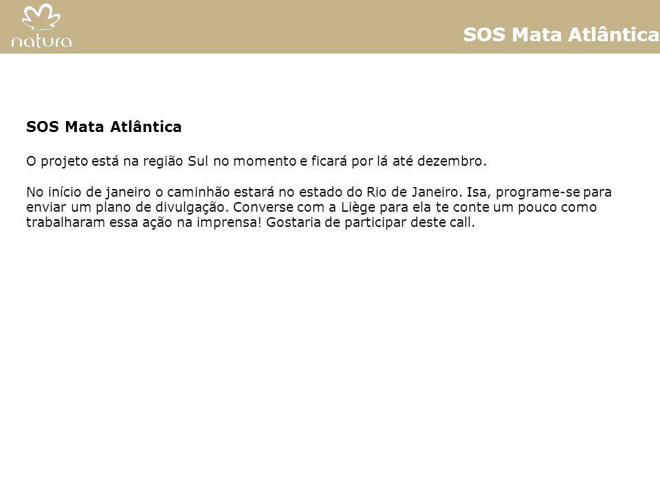 SOS Mata Atlântica SOS Mata Atlântica