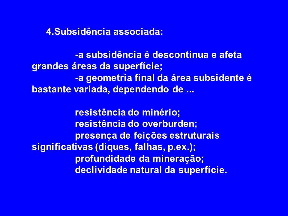 4.Subsidência associada: