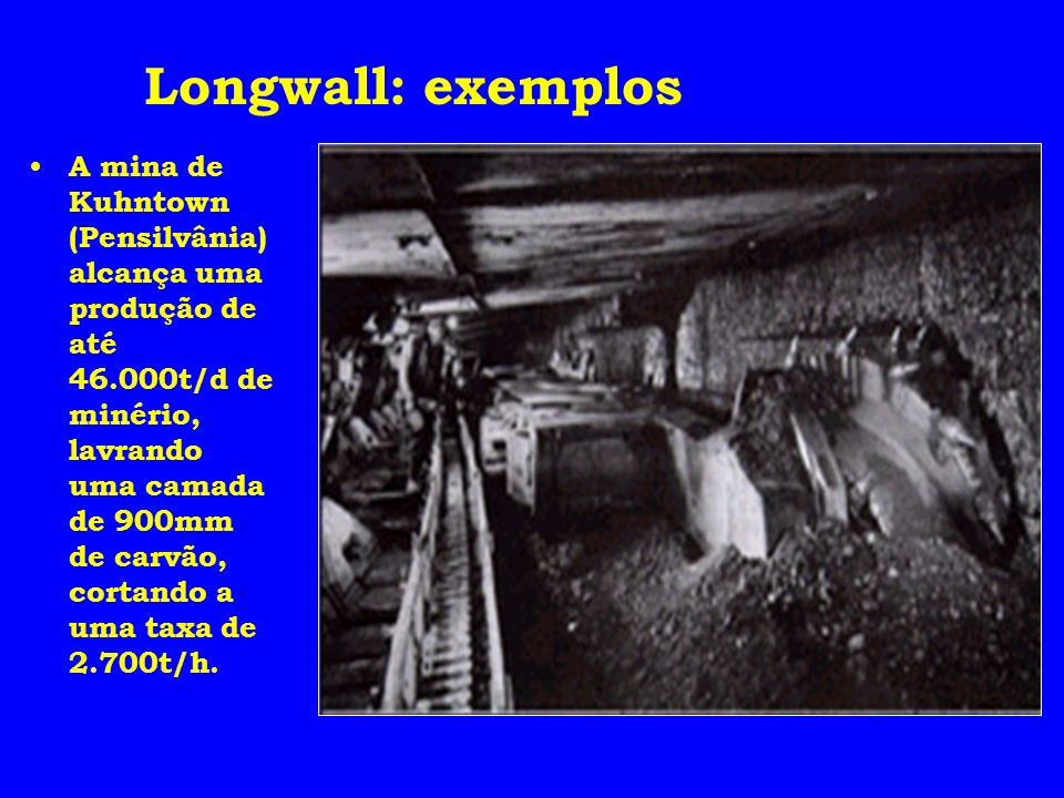Longwall: exemplos