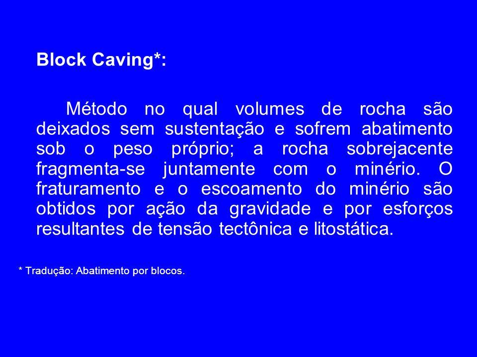Block Caving*:
