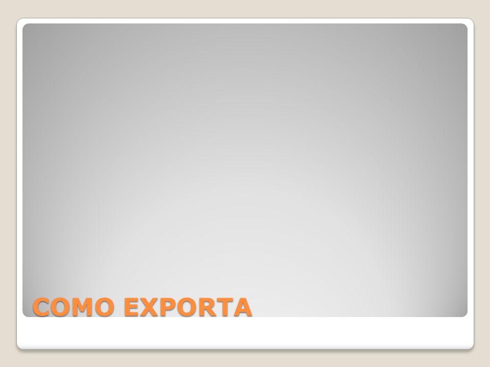 COMO EXPORTA