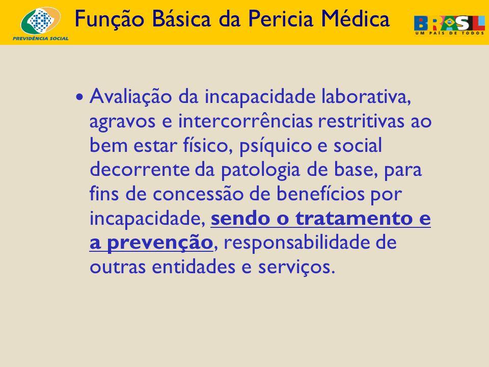Função Básica da Pericia Médica