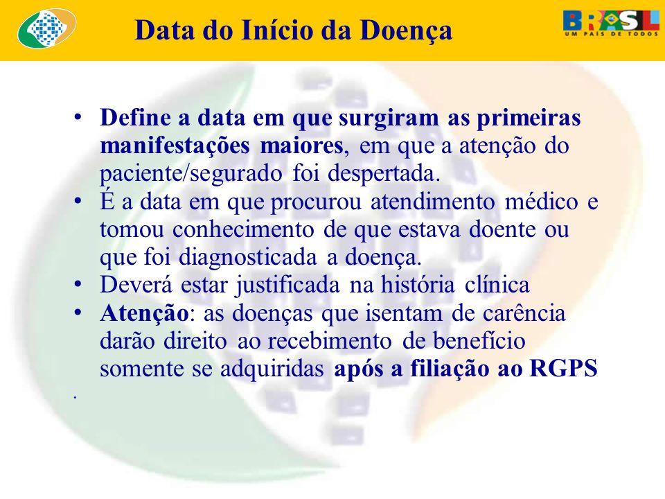 Data do Início da Doença