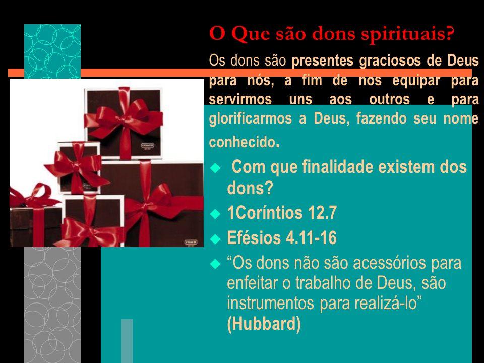 O Que são dons spirituais