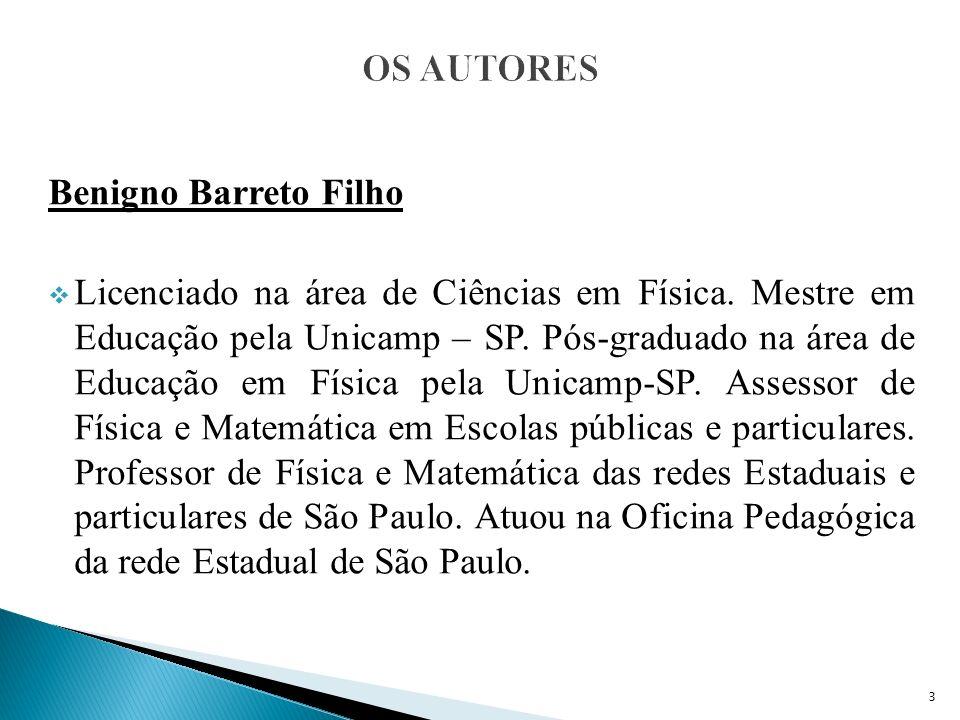 OS AUTORES Benigno Barreto Filho.