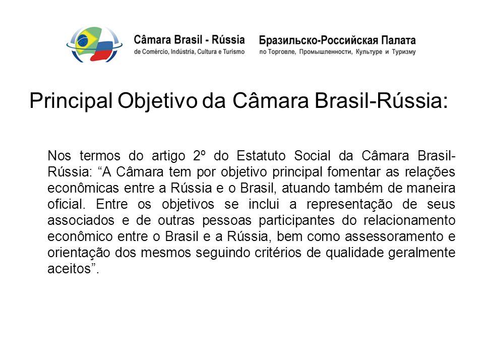 Principal Objetivo da Câmara Brasil-Rússia: