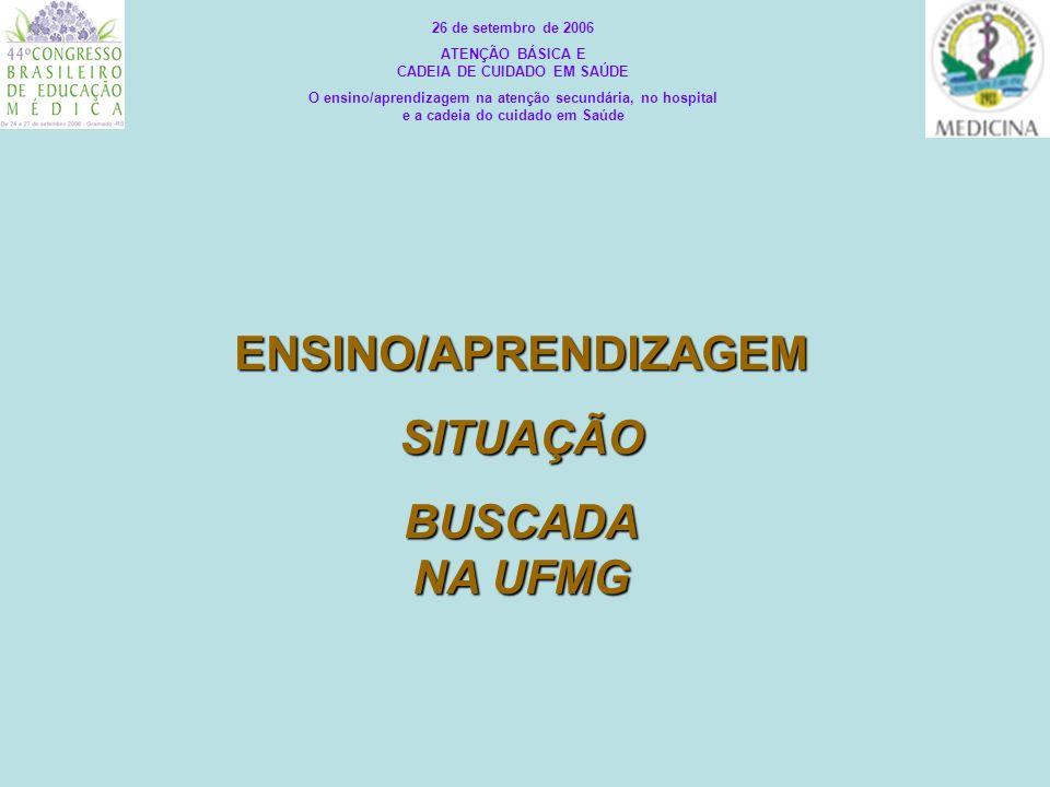 ATENÇÃO BÁSICA E CADEIA DE CUIDADO EM SAÚDE