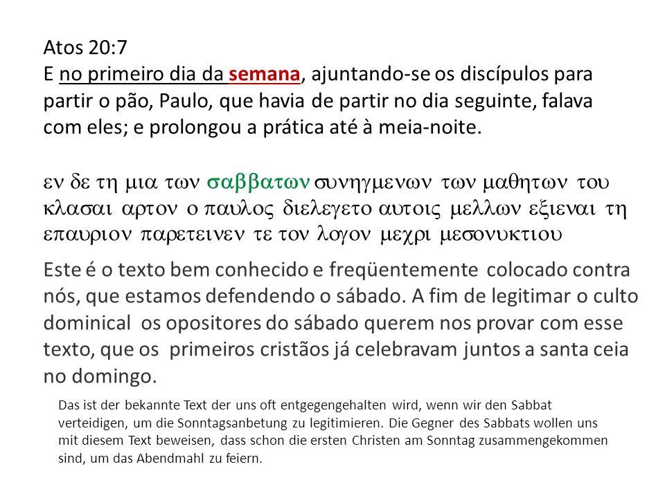 Atos 20:7
