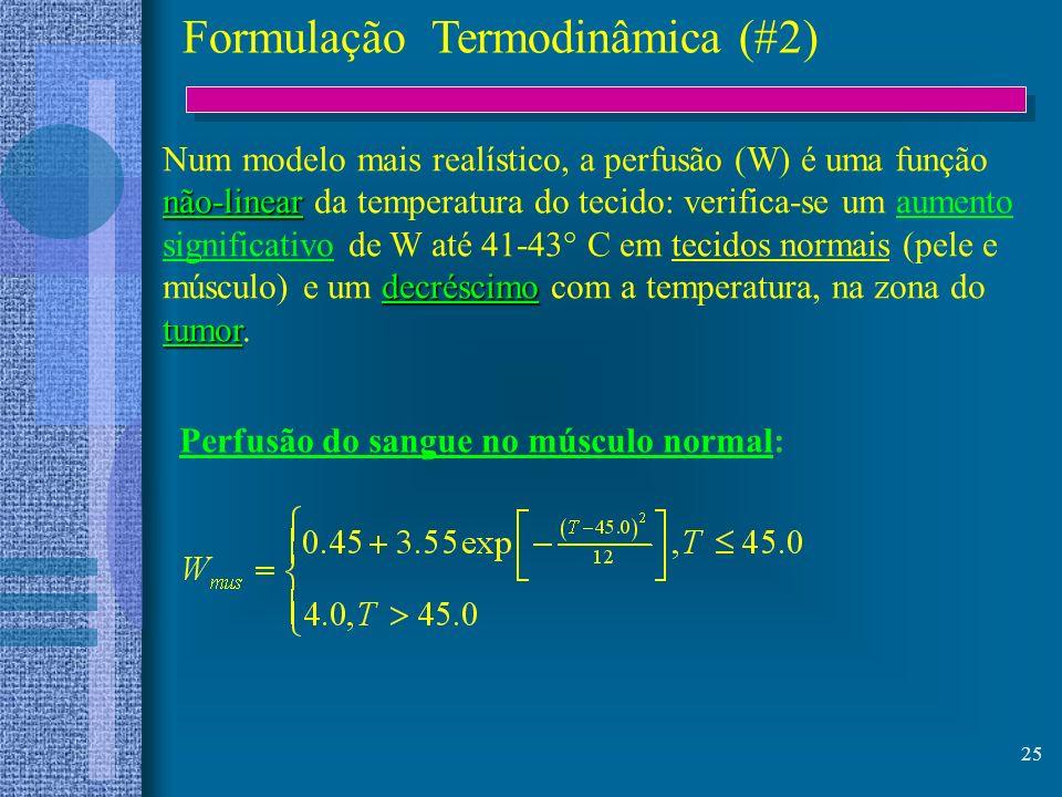 Formulação Termodinâmica (#2)