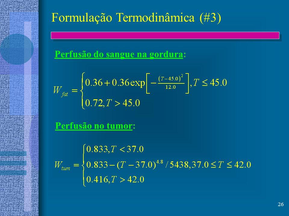 Formulação Termodinâmica (#3)