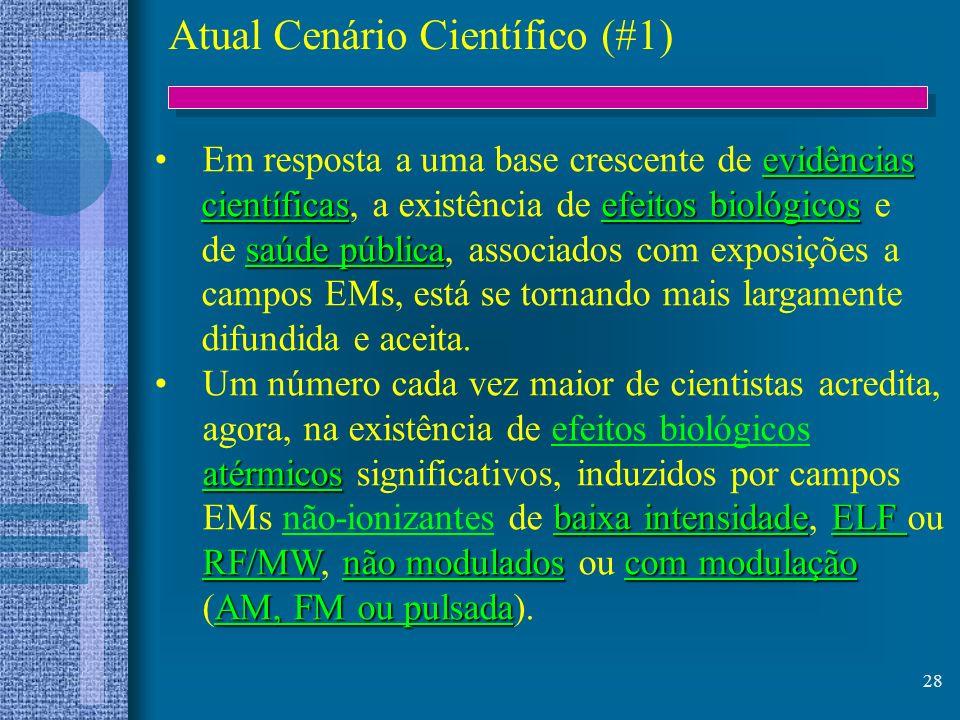 Atual Cenário Científico (#1)