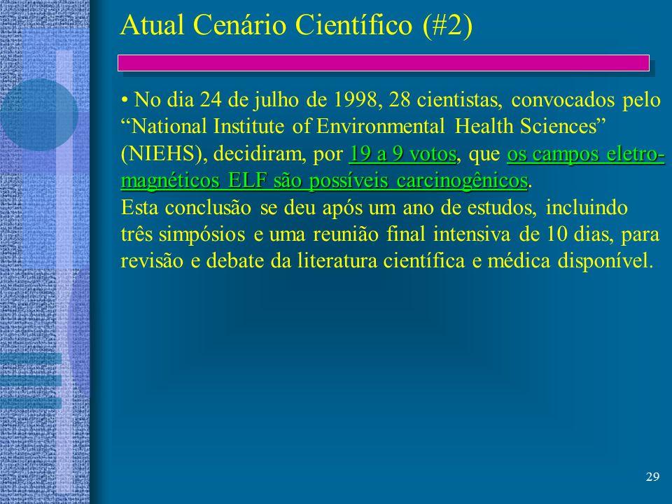 Atual Cenário Científico (#2)