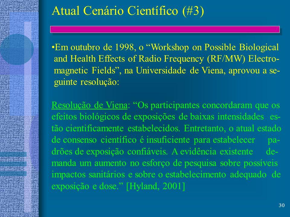 Atual Cenário Científico (#3)
