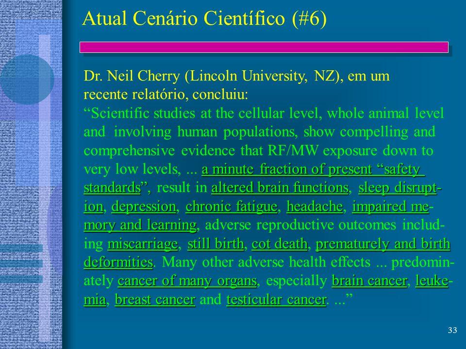 Atual Cenário Científico (#6)