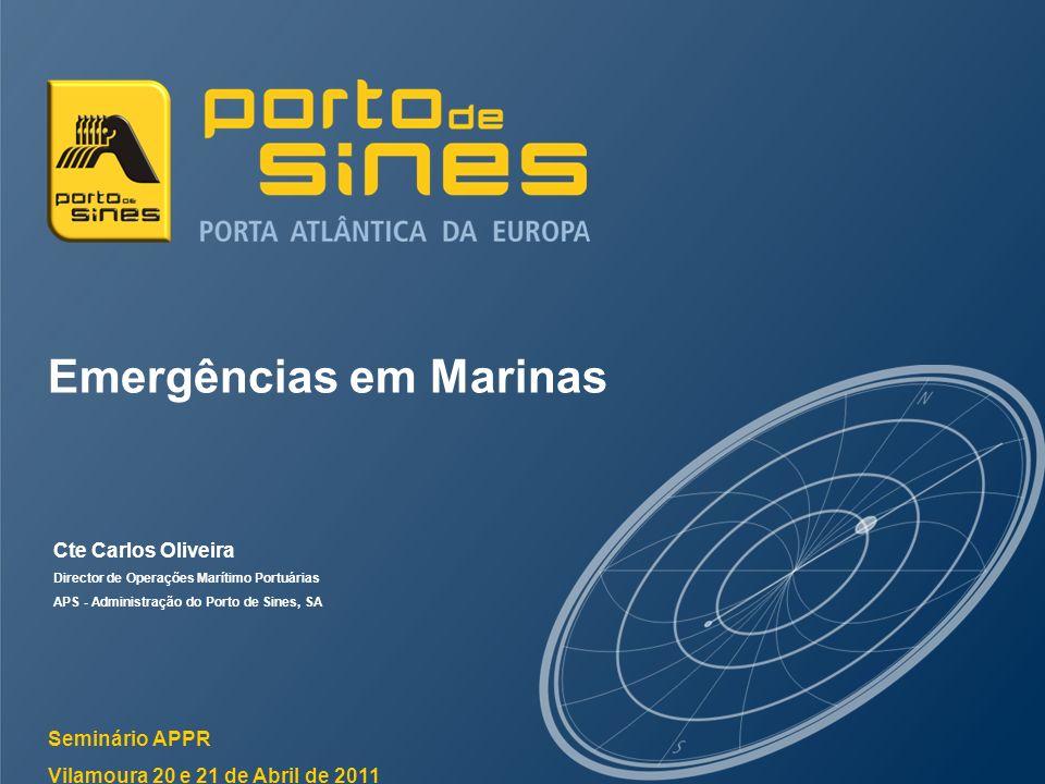 Emergências em Marinas