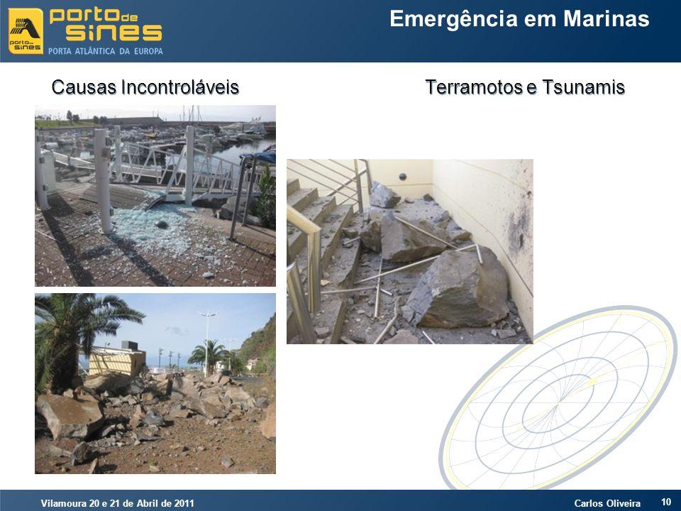 Causas Incontroláveis Terramotos e Tsunamis