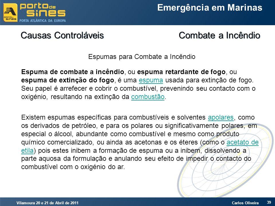 Causas Controláveis Combate a Incêndio