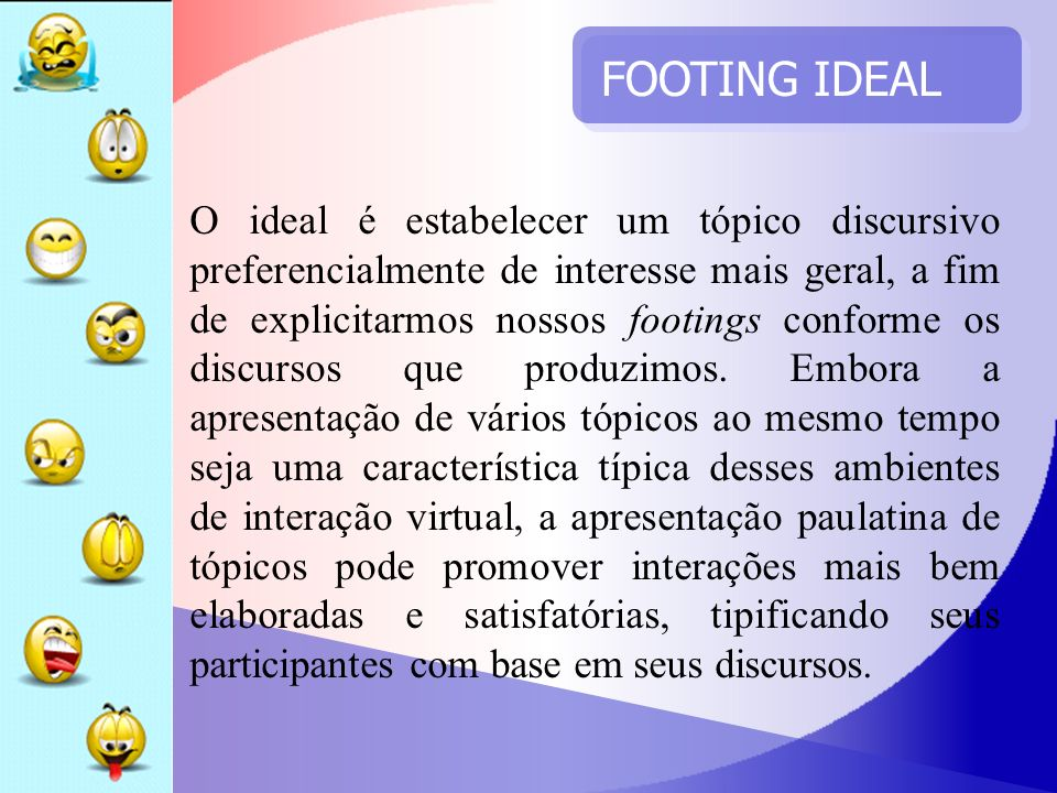 FOOTING IDEAL