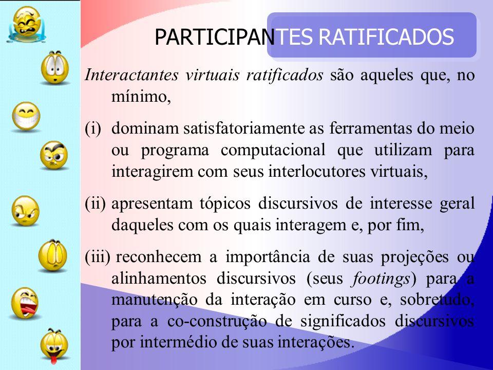 PARTICIPANTES RATIFICADOS