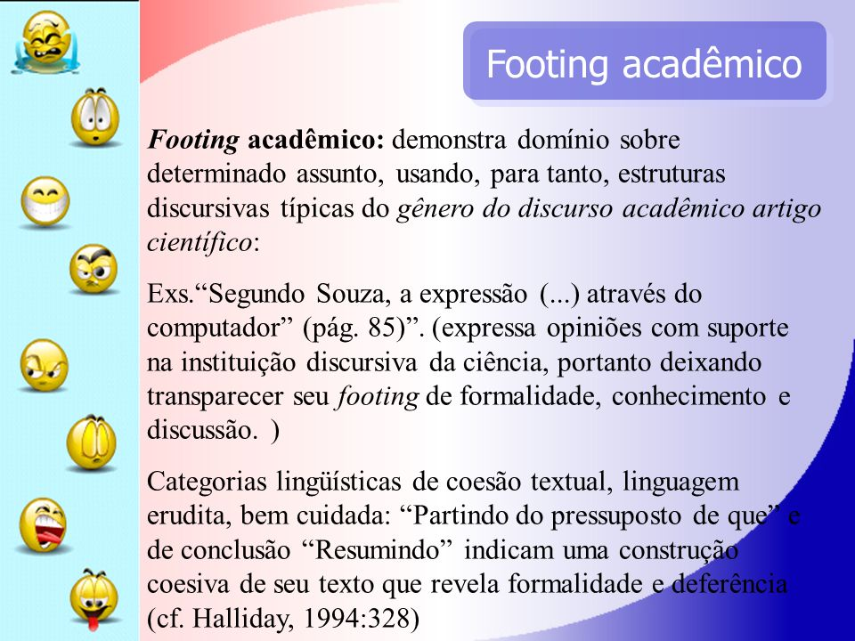 Footing acadêmico