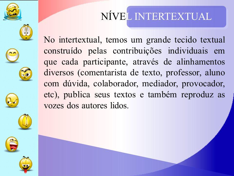 NÍVEL INTERTEXTUAL