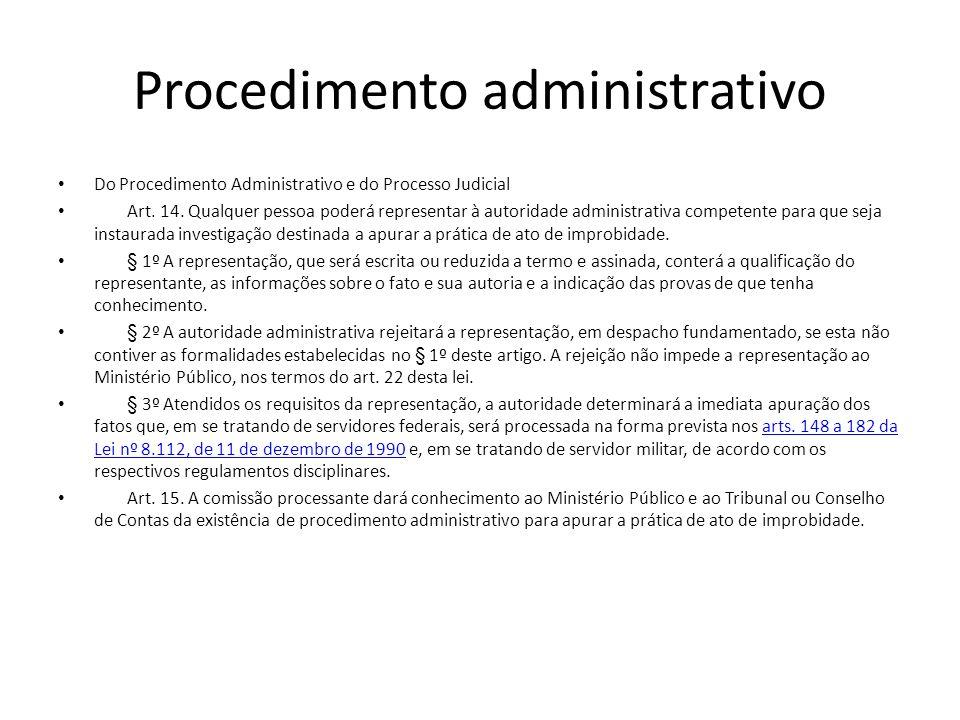 Procedimento administrativo