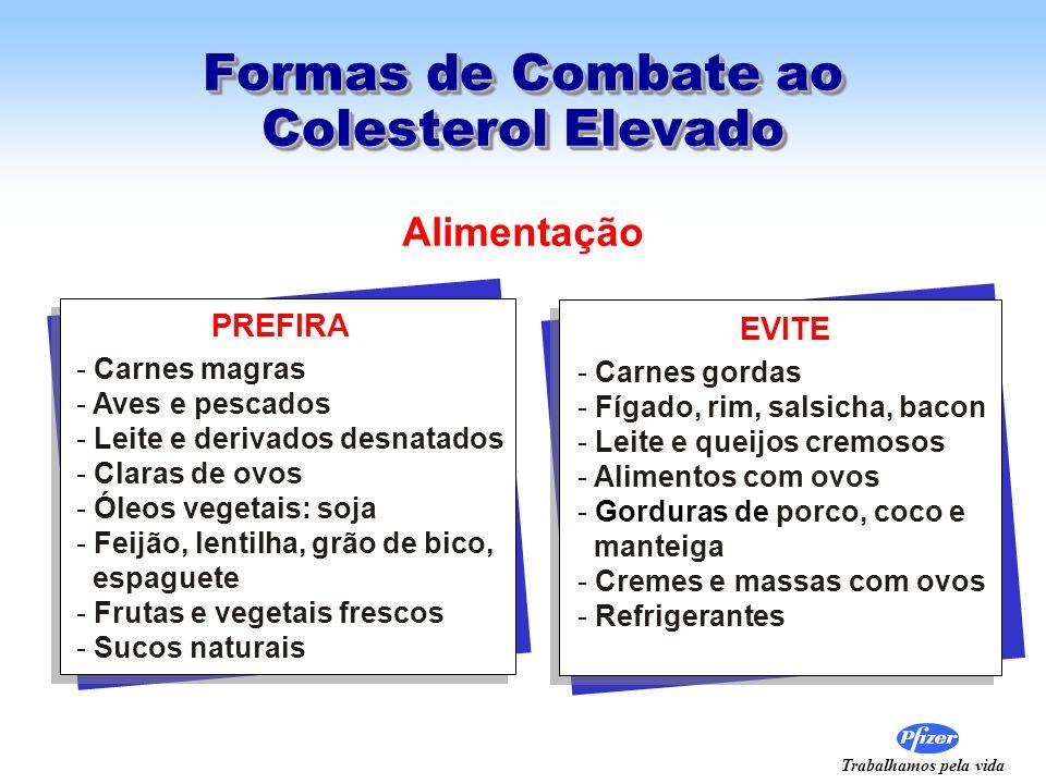 Formas de Combate ao Colesterol Elevado