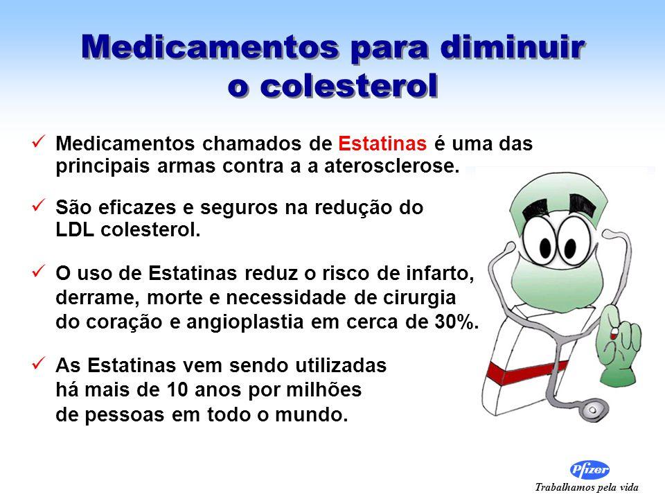 Medicamentos para diminuir o colesterol